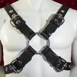 Buckled Leather Harness